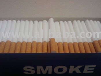 Cigarette filtered tubes