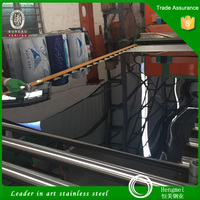 Alibaba Express Black Mirror Stainless Steel Sheets for Interior Decoration