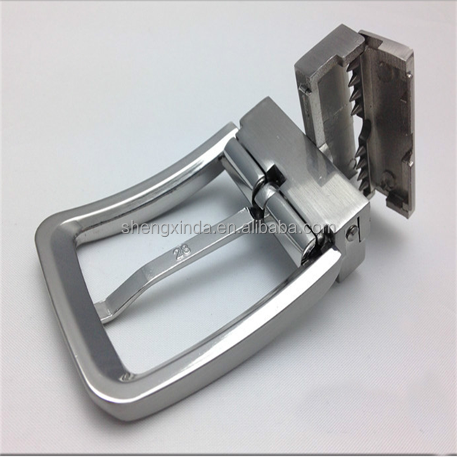 Personalized Zinc Alloy Die Casting Metal Reversible Pin Belt Buckle