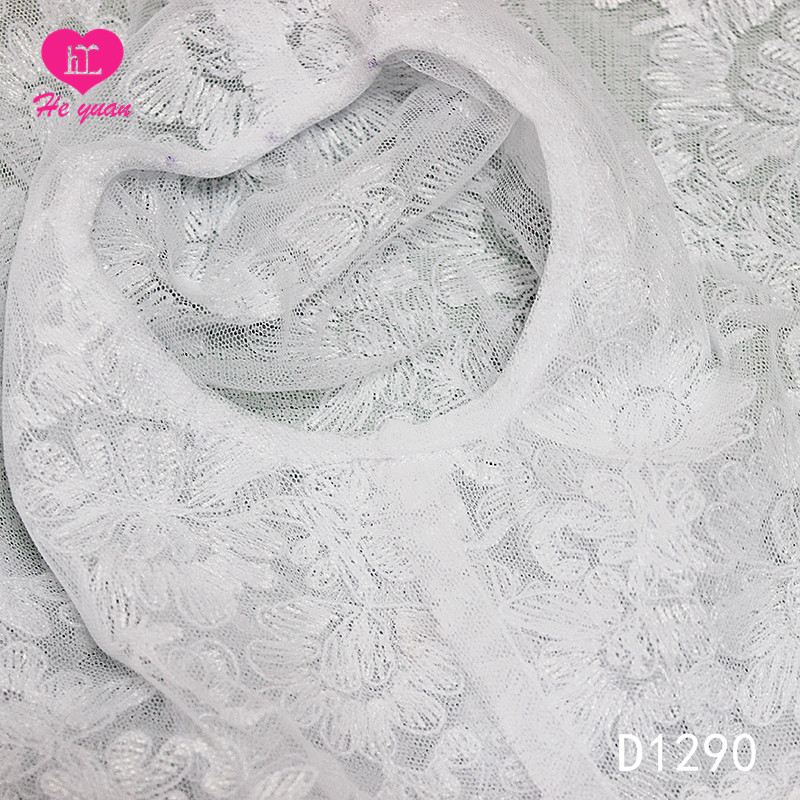 D1290  Dress shawl Advanced Embroidery Lace Jacket/Bolero Pattern of flower for Wedding Bride or Flower Girl Dress shawl