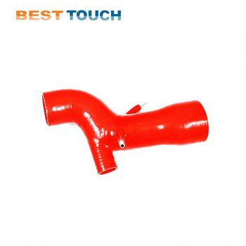 Automotive silicone pipe reducing elbow 90 degree rubber heater hose for POLARIS