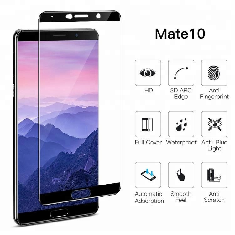For Huawei Mate 10 3D Color Premium Tempered Glass Screen Protector