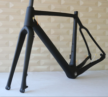 New arrival carbon cyclocross frame FO-FM286 flat mount bike , chinese bicycle frame