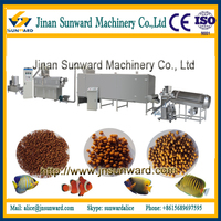 Floating & Sinking Fish Feed Processing Line Fish food machine