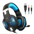 KOTION EACH G1000 3.5mm Game Gaming Headphone Headset Earphone Headband with Microphone LED Light headphone factory