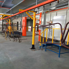 Good price powder coating line with pretreatment cleaning device