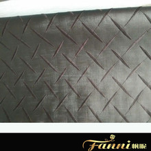 embroidered pu synthetic leather for sofa making/sofa rexine