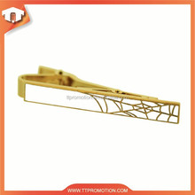 Wholesale custom logo cheap metal crafts tie clip on tie parts