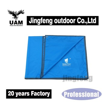 easy carry and folding waterproof tent floor mat