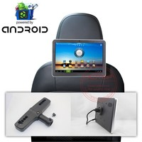 Android Operation System car headrest monitor for bmw With WIFI, 3G, Game Player