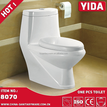 YIDA sanitary ware one piece toilet bowl, Dubai Golden Dragon brand bathroom one piece toilet wc