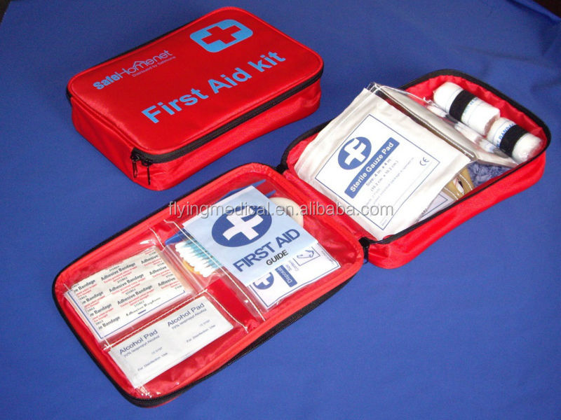 FDA&CE approved Red Cross family/office/workshop First Aid Kit