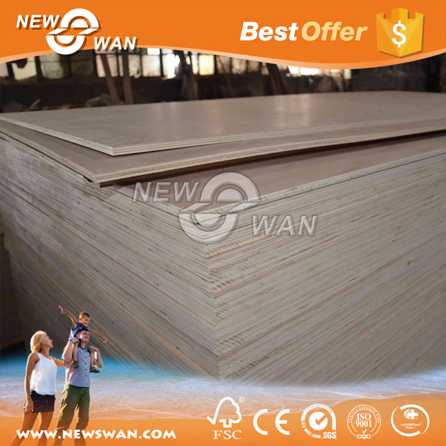 7 ply plywood / Okoume Commercial Plywood
