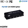 HDMI Splitter 1x4 mini hdmi cctv video distribution amplifier Spliter