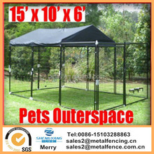 Pet Dog Chicken Puppy Cat Enclosure Run Cage Kennel Fence Exercise Yard Portable