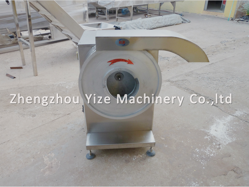 Electric sweet potato chip slicer / cutting / making machine