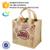 Wholesale reusable custom 6 bottle pp non woven wine bag