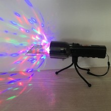 Crystal ball RGB disco party LED stage light with flashlight full color DC5V