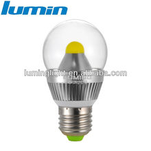 7w cool white e27 led bulb ra>80 270 degree beam angle
