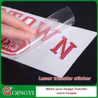 Wholesale laser cut vinyl stickers for heat press machine