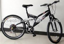 steel mountain bike with 18s