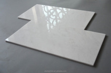Chinese Snow White Marble Stone Tile 12 X 24