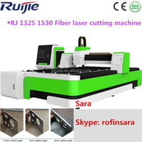 With Germany IPG laser&Casting lathe&working table 1500*3000mm 500w fiber laser cutting machine