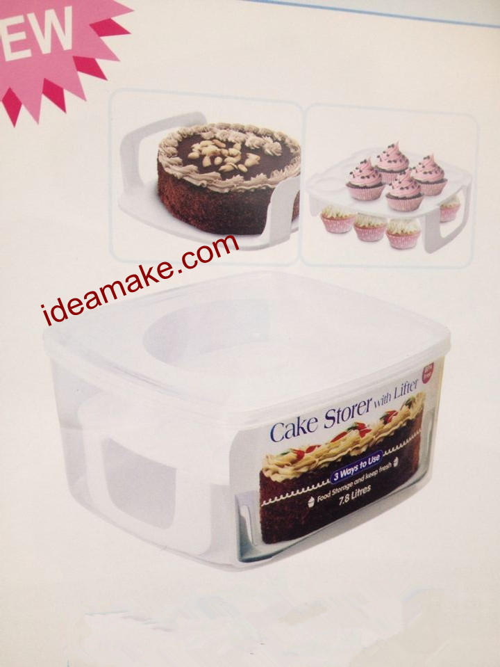 cake storer with lifter food storage box and cake saver cake box food fresh box