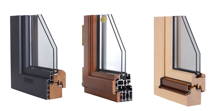 High End Low U Value Entrance Door With Double Glazed Heat