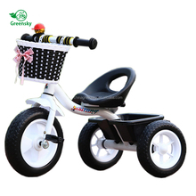 Ride on car 2018 wholesale red cheap child balance bike baby carrier tricycle manufacturers for kids in india