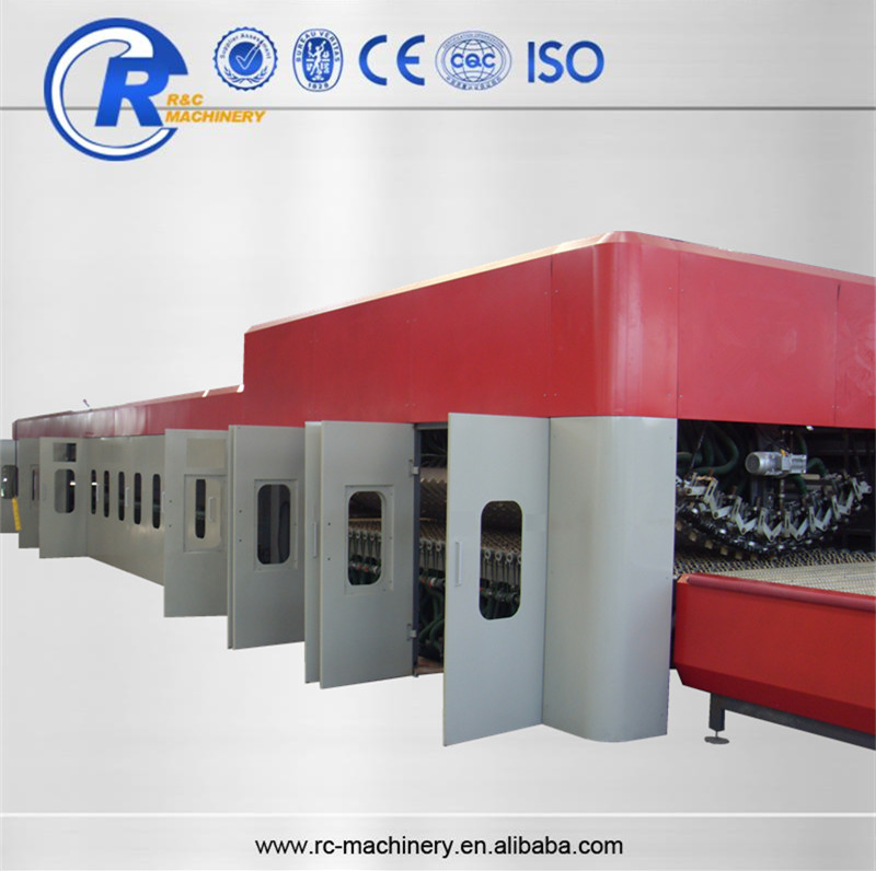 High productivity small flat glass bending tempering furnace for sale