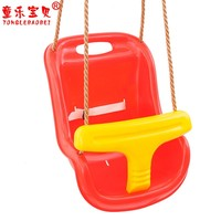 High Back Toddler Baby Plastic Rope Swing Seat