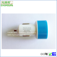 5V 2A Mushroom Universal Usb Car Charger for Mobile Phones / Tablets etc