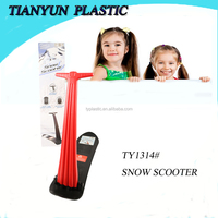 2015 new durable kick plastic snow scooter for sales