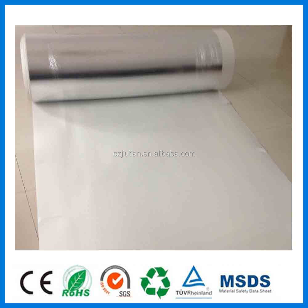 Wholesale Closed Cell Polythylene White EVA Underlayment With Silver ...
