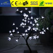 New Fashion Decoration Led Tree Light flocked christmas tree with light
