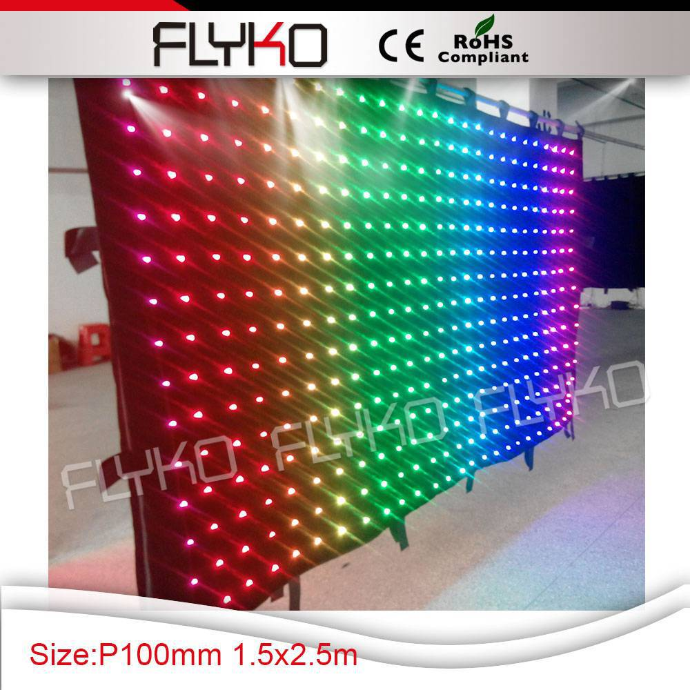 stage decoration backdrop fabric led flexible curtain/ soft xxx videos alibaba cn