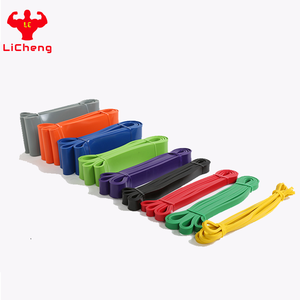 Wholesale Elastic Fitness Latex Exercise Bands Workout Mini Booty Resistance Loop Bands