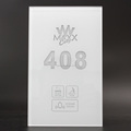 Tempered Glass Hotel Guest Room Number Sign Electronic Sign Room Number with DND MUR Doorbell
