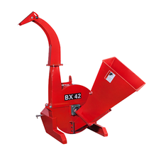 3 point PTO shaft red wood chipper for tractor