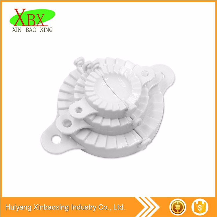 Small Moulding Forming 15.4x4.7x8cm PP/ Stainless steel chinese dumpling mould