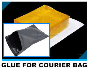 excellent quality polyethylene plastic courier bag sealing hot melt glue adhesive