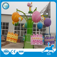 Discount entertainment mechanical rotary machine theme park kiddie Hello Kitty ride for sale