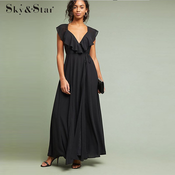 New Fashion Women Sexy Backless Summer evening Maxi Dress Party