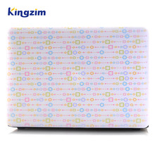 Customizable pattern laptop case protector for appple notebook, colorful protective shell for Macbook pro 13 retina screen