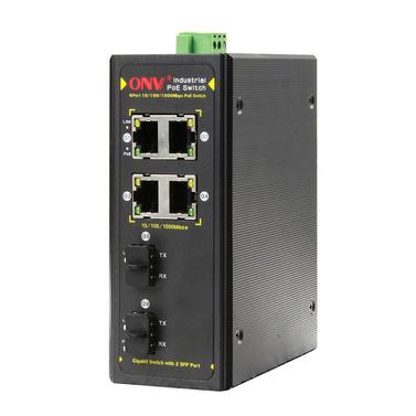 Mini poe switch 3 ports aluminium housing desktop ethernet network switch fast industrial poe - Mini switch ethernet 3 ports ...