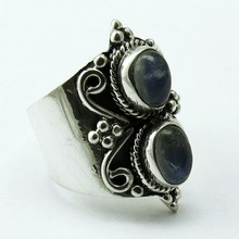 Take This Chance Rainbow Moonstone 925 Sterling Silver Ring