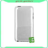 Original New battery door for iPod Touch 4 back housing cover White , rear back housing for iPod touch 4