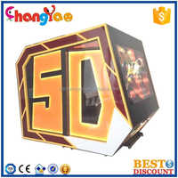 3D 4D 5D 6D Cinema Theater Movie System Suppliers Truck Mobile 5D Cinema Simulator