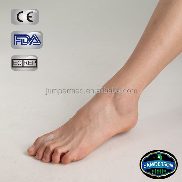 Orthopedic 100% silicone gel footcare insole